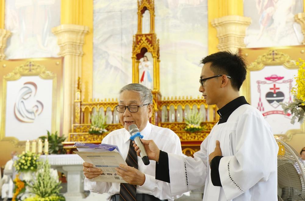 GS. Nguyễn Khắc Phi, đại diện gia đình trong Lễ mừng thọ
